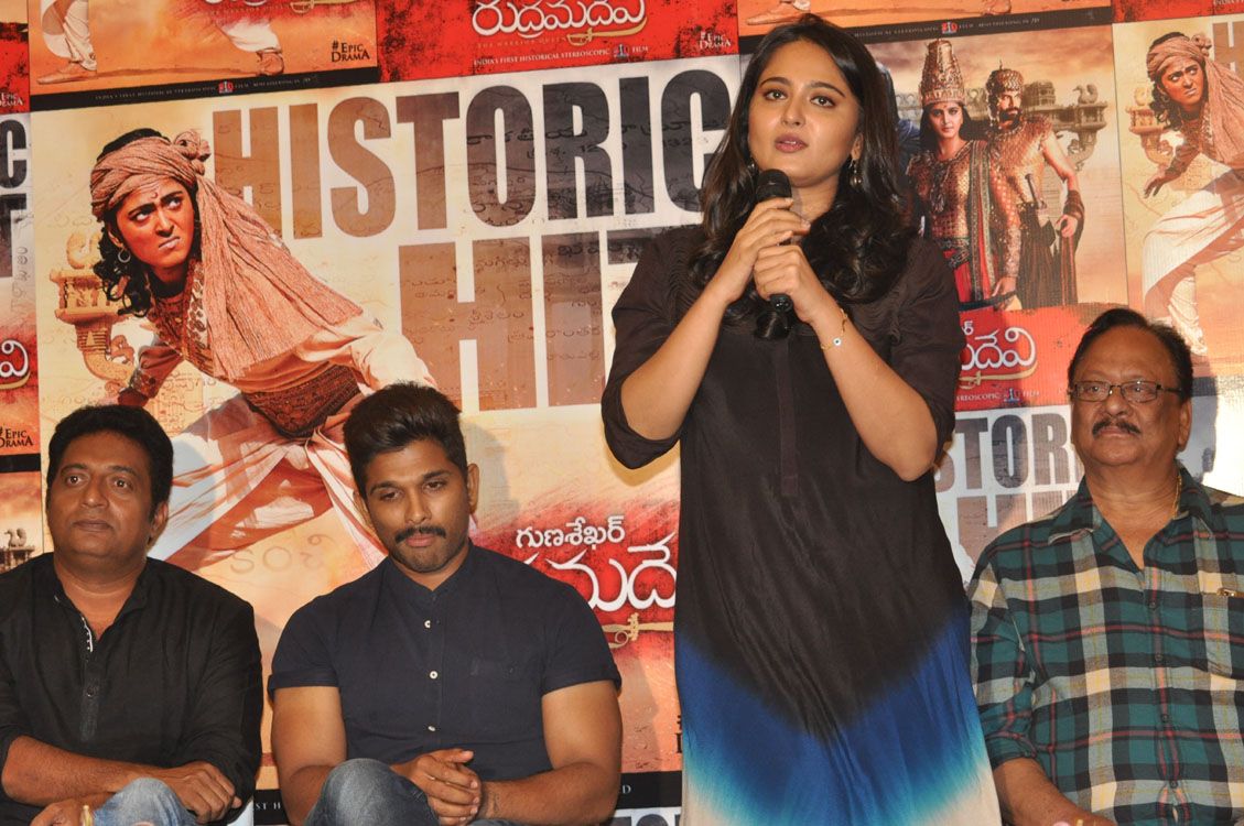 Rudramadevi movie success meet photos-HQ-Photo-12