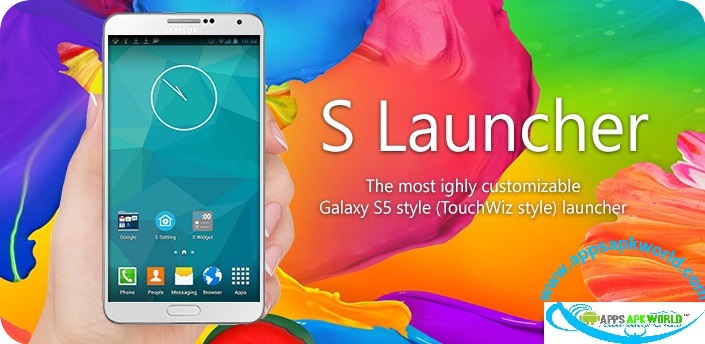 S Launcher Prime (Galaxy S5 Launcher) Cracked Patched Apk