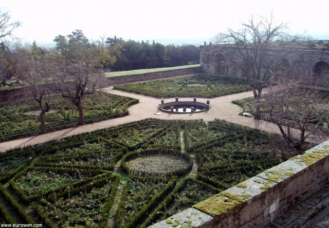 Jardines del Monasterio de El Escorial
