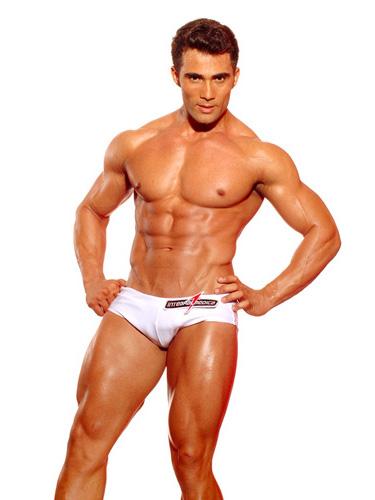 Júnior Moreno, 27 anos, modelo, de São Paulo