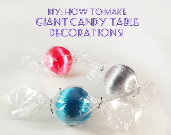 screen rant vividplease diy how to make giant candy table decorations - Giant Candy Decorations Christmas