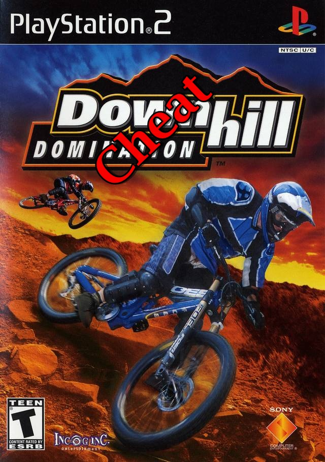 Password Downhill Domination + Trik Melompat