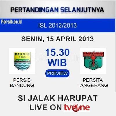 PERSIB Bandung vs PERSITA Tanggerang