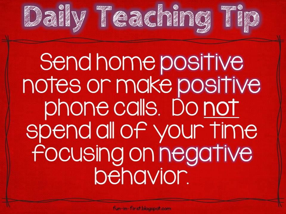 Daily Teaching Tips and Spelling - Fun in First
