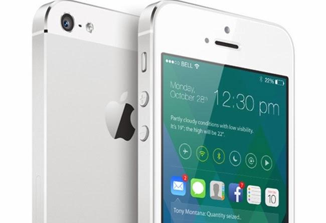 iPhone IOS 8 concept