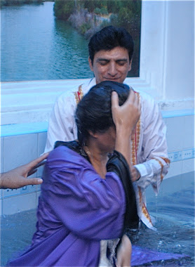 Baptism of my sister in Christ.