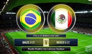 Brazil U-17 vs Meksiko U-17