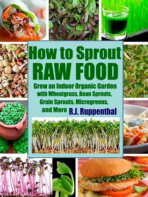 How to sprout raw food grow an indoor organic garden for Indoor gardening pdf