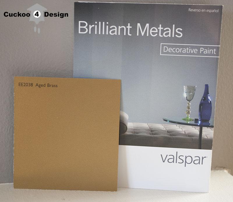 Valspar Brass Spray Paint