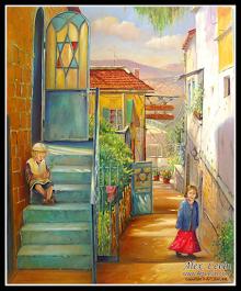 On the streets of Jerusalem.