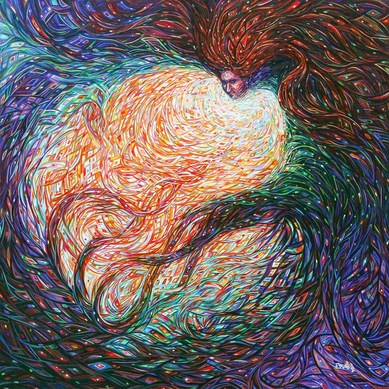 08-Origins-of-Nature-Eduardo-R-Calzado-Paintings-in-Swirls-of-Colour-www-designstack-co