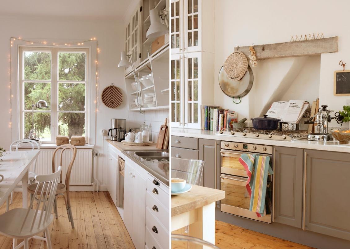 #9A6631 Decoração da cozinha Agora Que Sou Noiva 1130x807 px Estilo De Cozinha Em Casa_222 Imagens