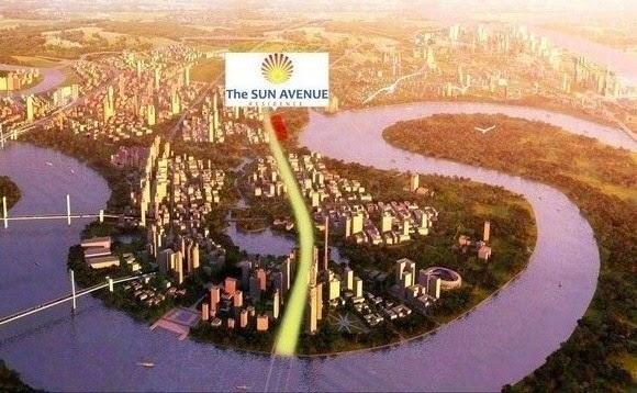 vi tri the sun avenue