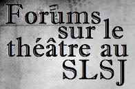 Suivi des «Forums sur le théâtre au Saguenay-Lac-Saint-Jean»