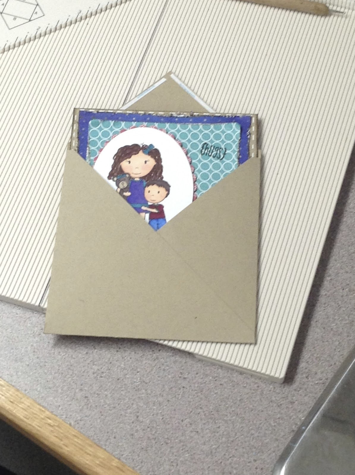 how to make a paper envelope without tape