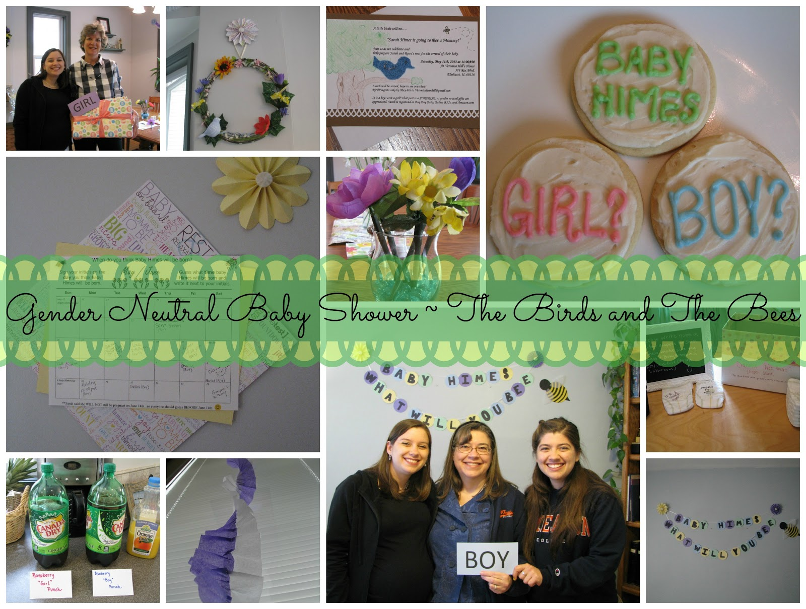 Adventures of D and V: Adventures in Baby Shower: Gender Neutral