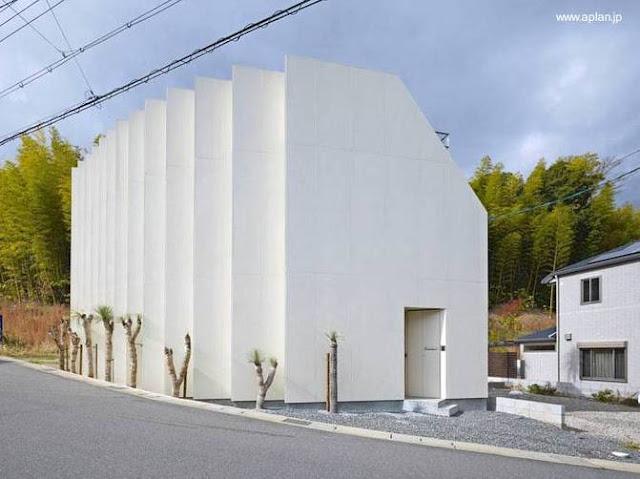 Casa ultramoderna japonesa