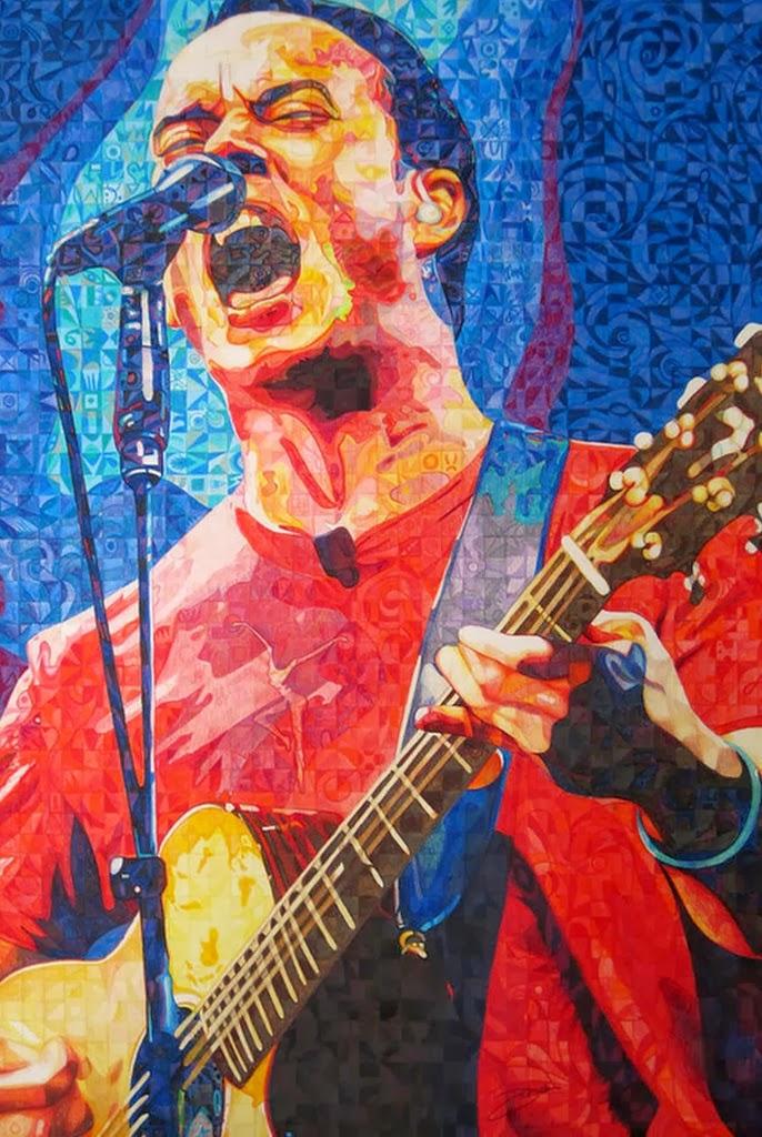 cantantes-pintados-al-oleo