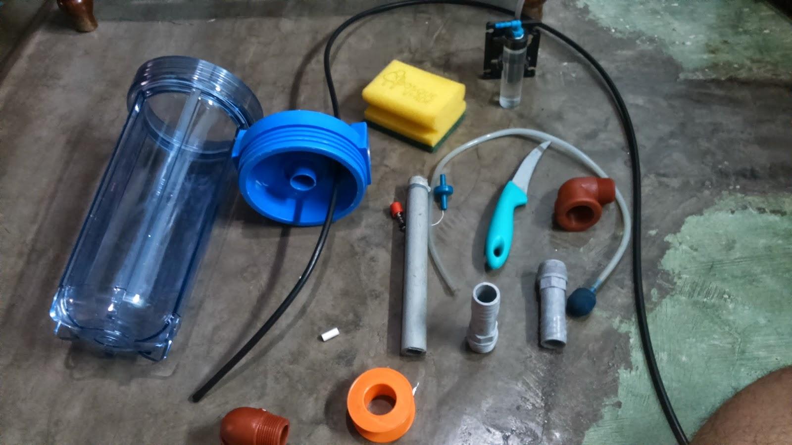 Acuariofilia reactor de co2 casero for Filtros para estanques de peces caseros