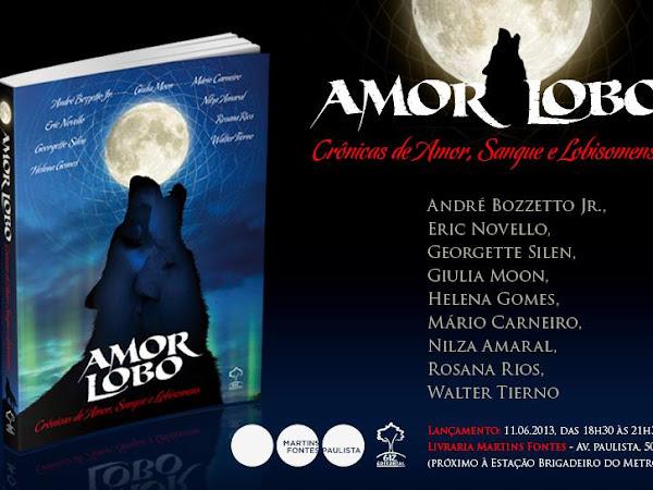 Evento da Giz editorial em São Paulo: Lançamento de Amor Lobo + sessão de autógrafos Lázarus/Panaceia