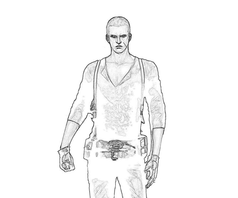 resident-evil-jake-muller-art-coloring-pages