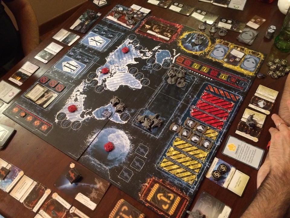 Giochi sul nostro tavolo recensione xcom il gioco da tavolo - Waterloo gioco da tavolo ...
