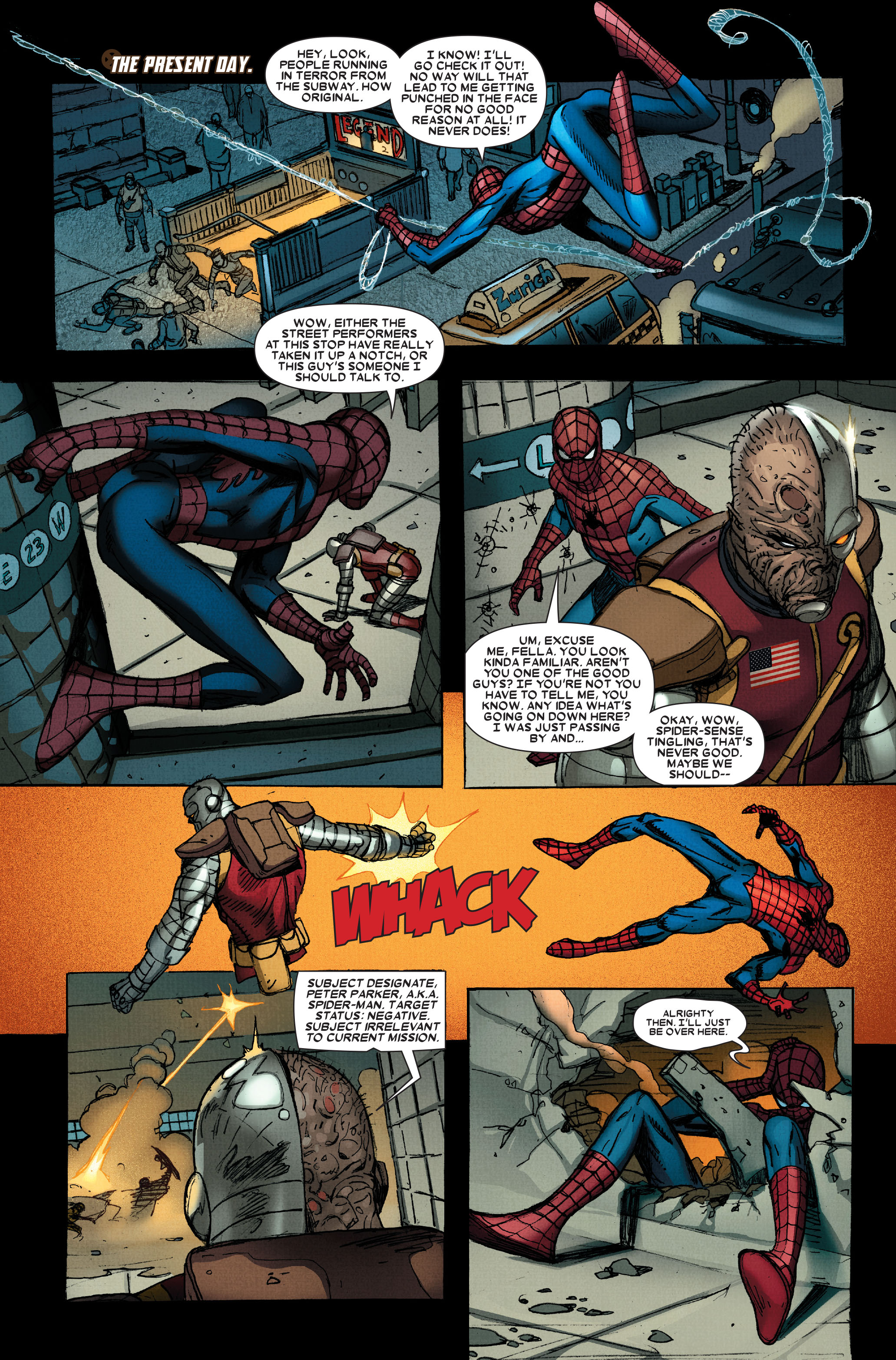 Wolverine: Weapon X #13 #4 - English 8