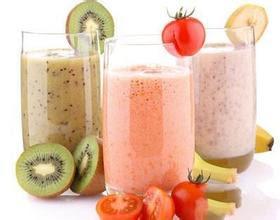 sữa trộn nước hoa quả