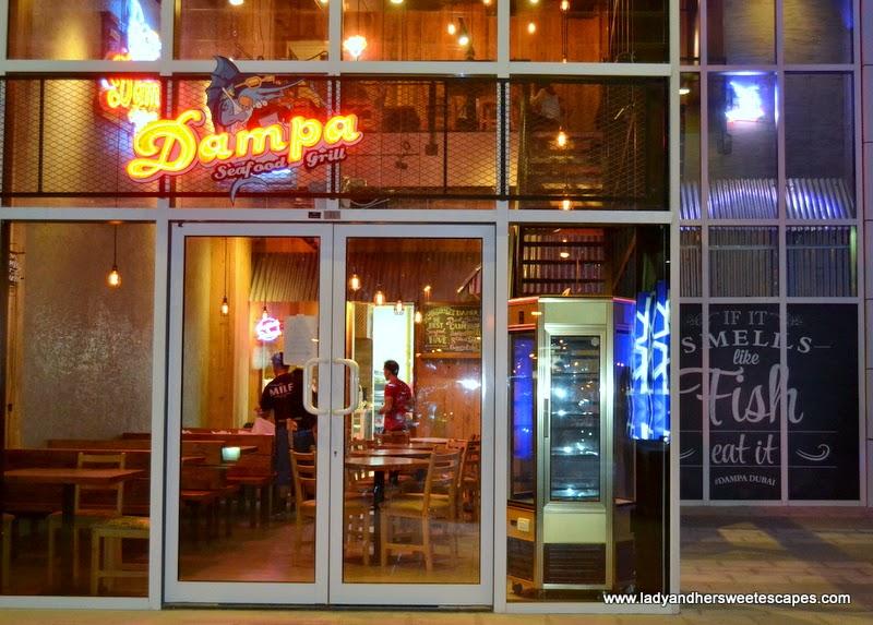Dampa Seafood Grill in Deira Dubai