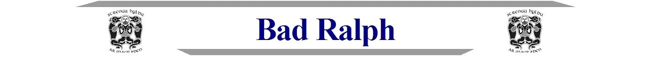 Bad Ralph
