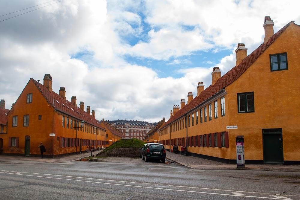 Similar looking orange Barracks in copenhagen