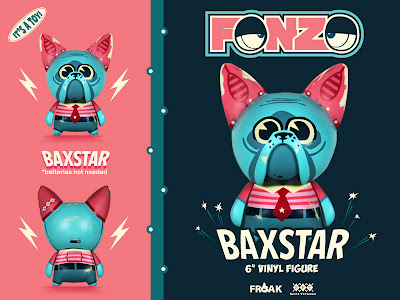 San Diego Comic-Con 2013 Exclusive Baxtar Fonzo Vinyl Figure by Scott Tolleson