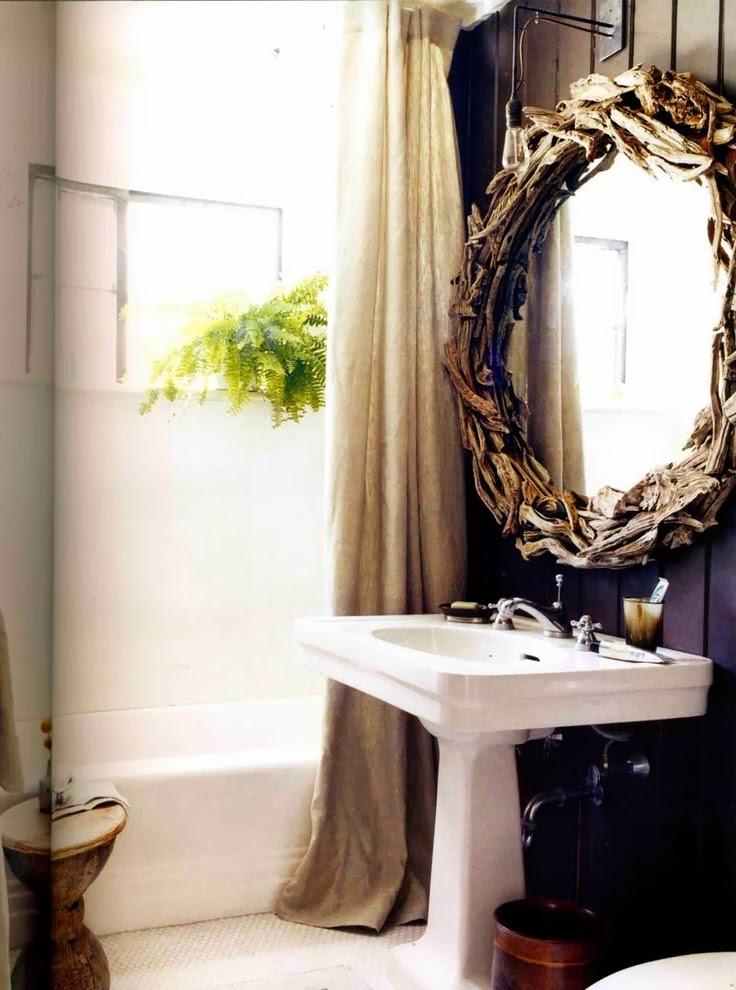 Декор зеркала для ванной своими руками фото