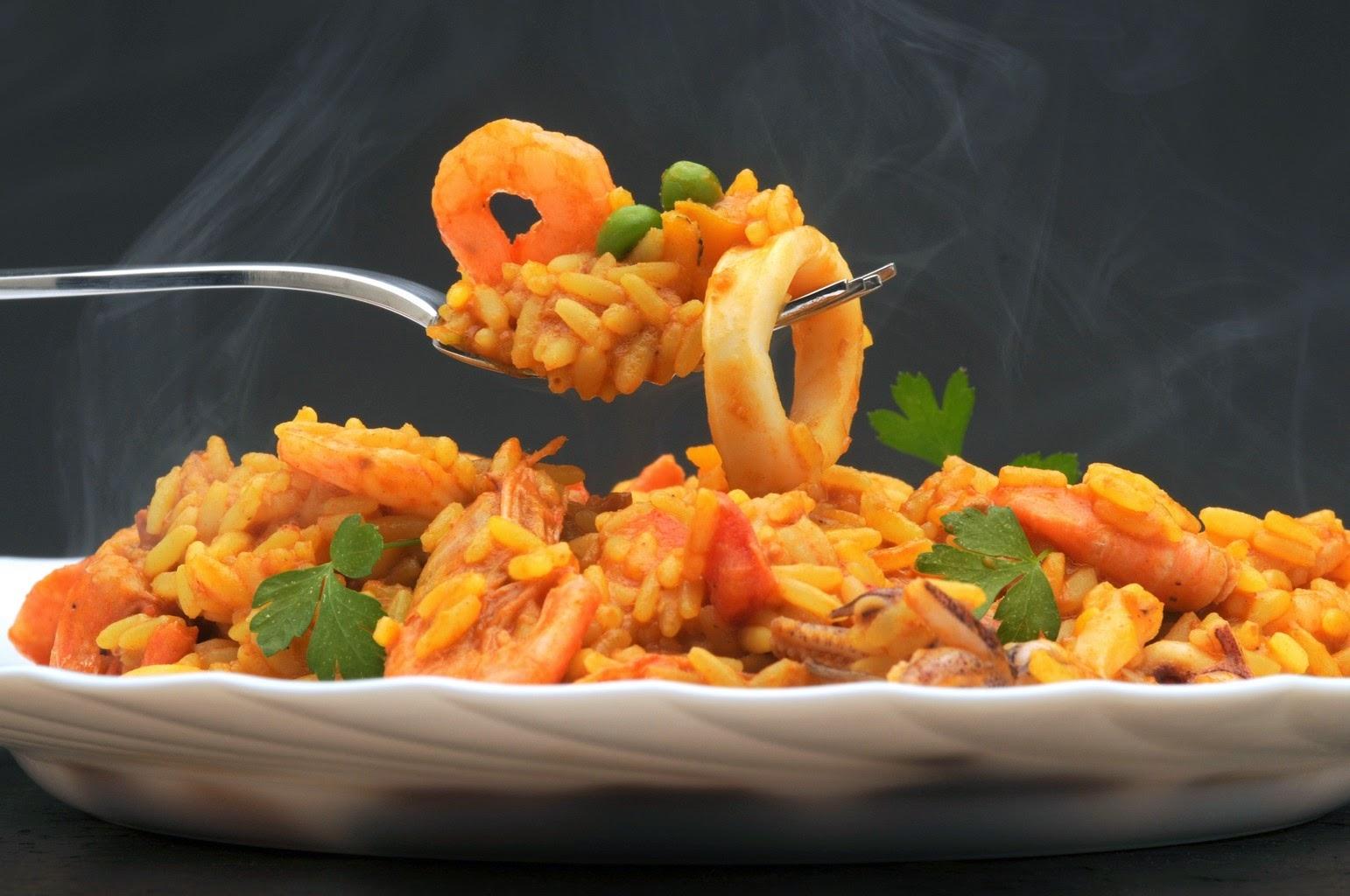 Recette du Riz aux fruits de mer