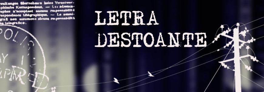 Letra Destoante
