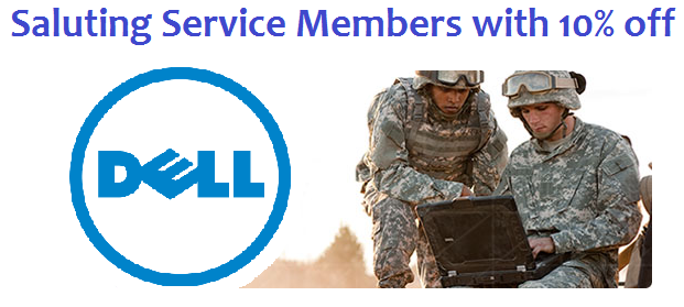 Dell military discount coupon