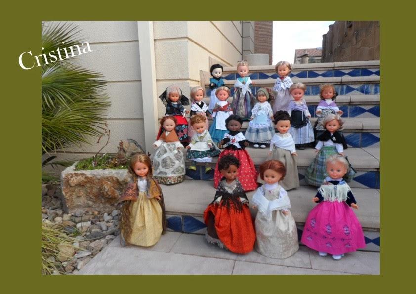 Trajes de baturra para muñecas