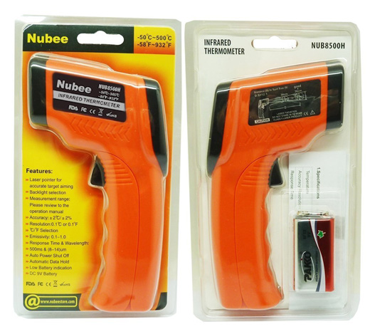 Nubee Temperature Gun Non-contact Infrared Thermometer #IRThermometer