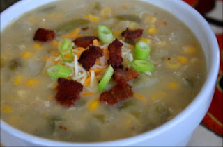 Green Chile Chicken Chowder