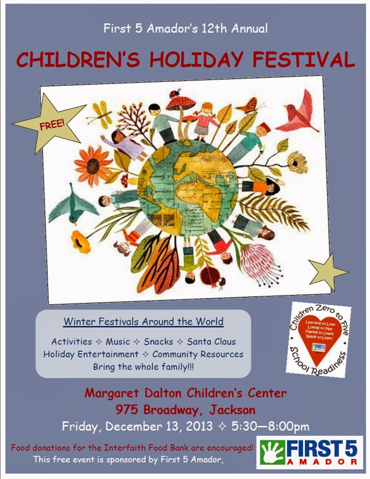 Children's Holiday Festival - Fri Dec 13