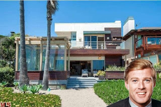 Robert Redford Malibu Beach House