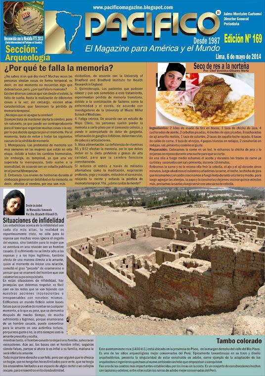 Revista Pacífico Nº 169 Arqueología
