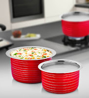 Buy Induction Friendly Patila Set- 2 Pcs at 61% off at Rs.299 : Buy To Earn