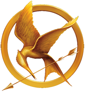 hunger games pin mockingjay