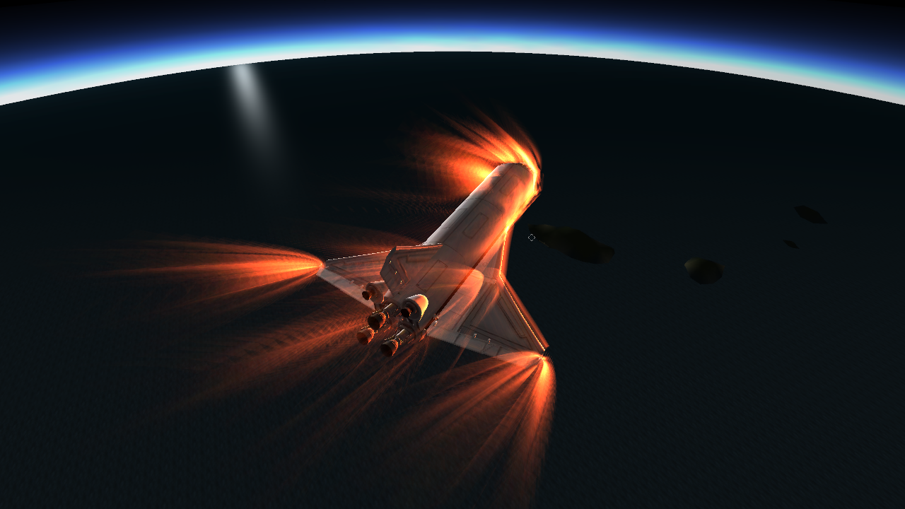 space shuttle re entry heat - photo #18