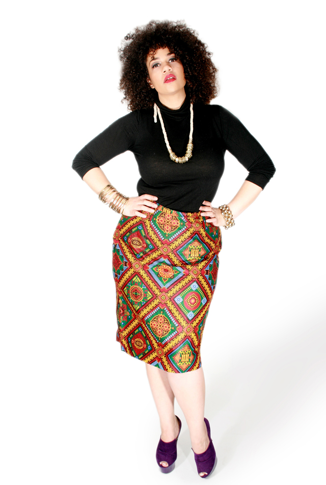 African print clothing for plus size size women