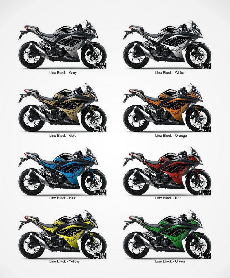 Jual Striping Kawasaki Ninja 250