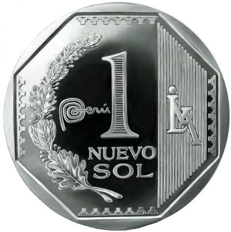 Nuevo Sol Peru PNG