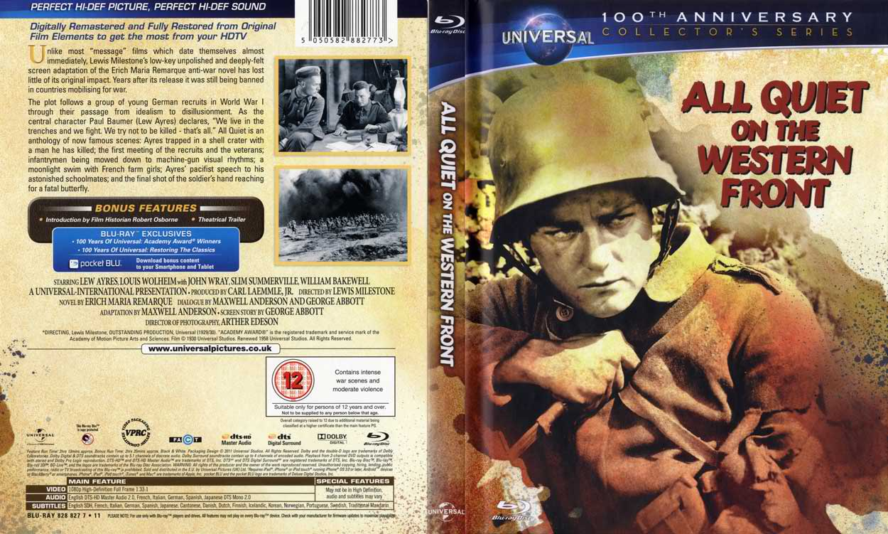 """a young soldiers life in all quiet on the western front by erich maria remarque Narrated by paul bäumer, a young man fighting on the french front, erich maria remarque's """"all quiet on the western front"""" describes the extreme circumstances of the german soldiers of the first world warpaul and his friends volunt."""