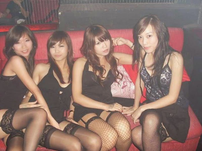 Sexy KTV Girls in Black
